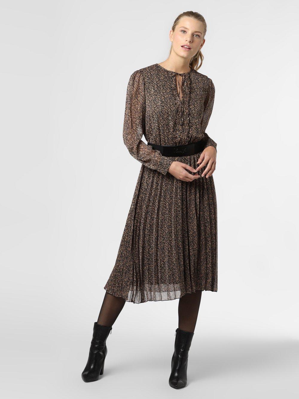 Liu Jo Collection - Sukienka damska, brązowy