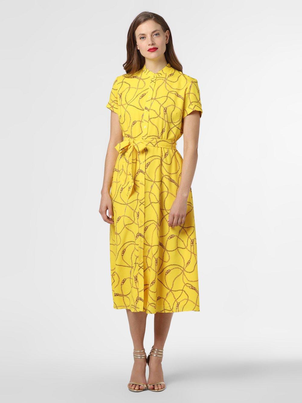 Lauren Ralph Lauren - Sukienka damska, żółty