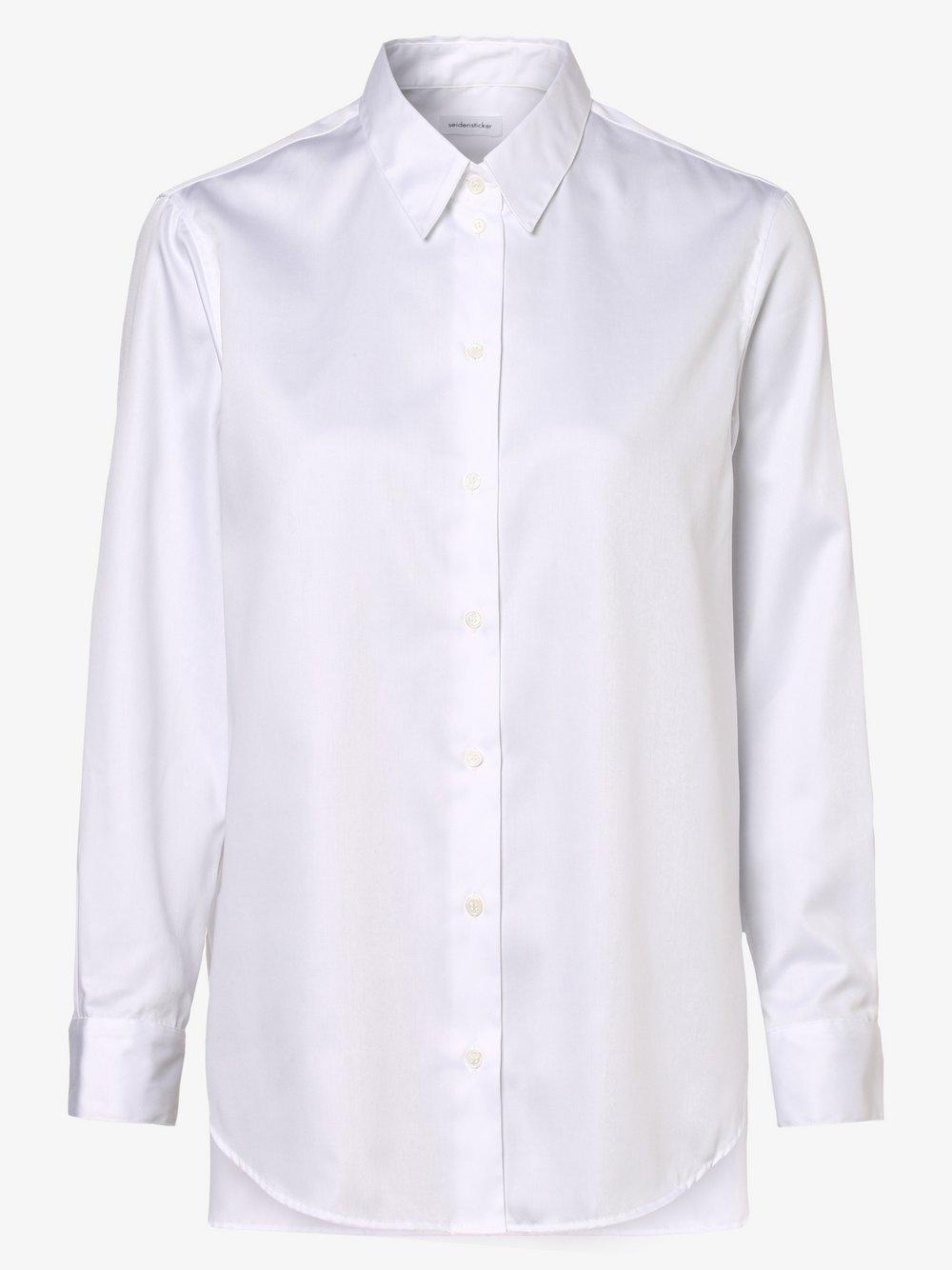 Seidensticker Schwarze Rose – Bluzka damska, biały Van Graaf 478978-0001