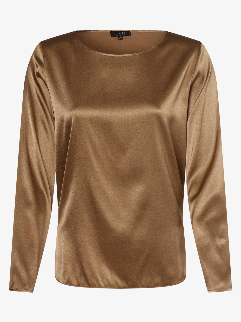 SvB Exquisit – Bluzka damska, beżowy Van Graaf 479056-0001