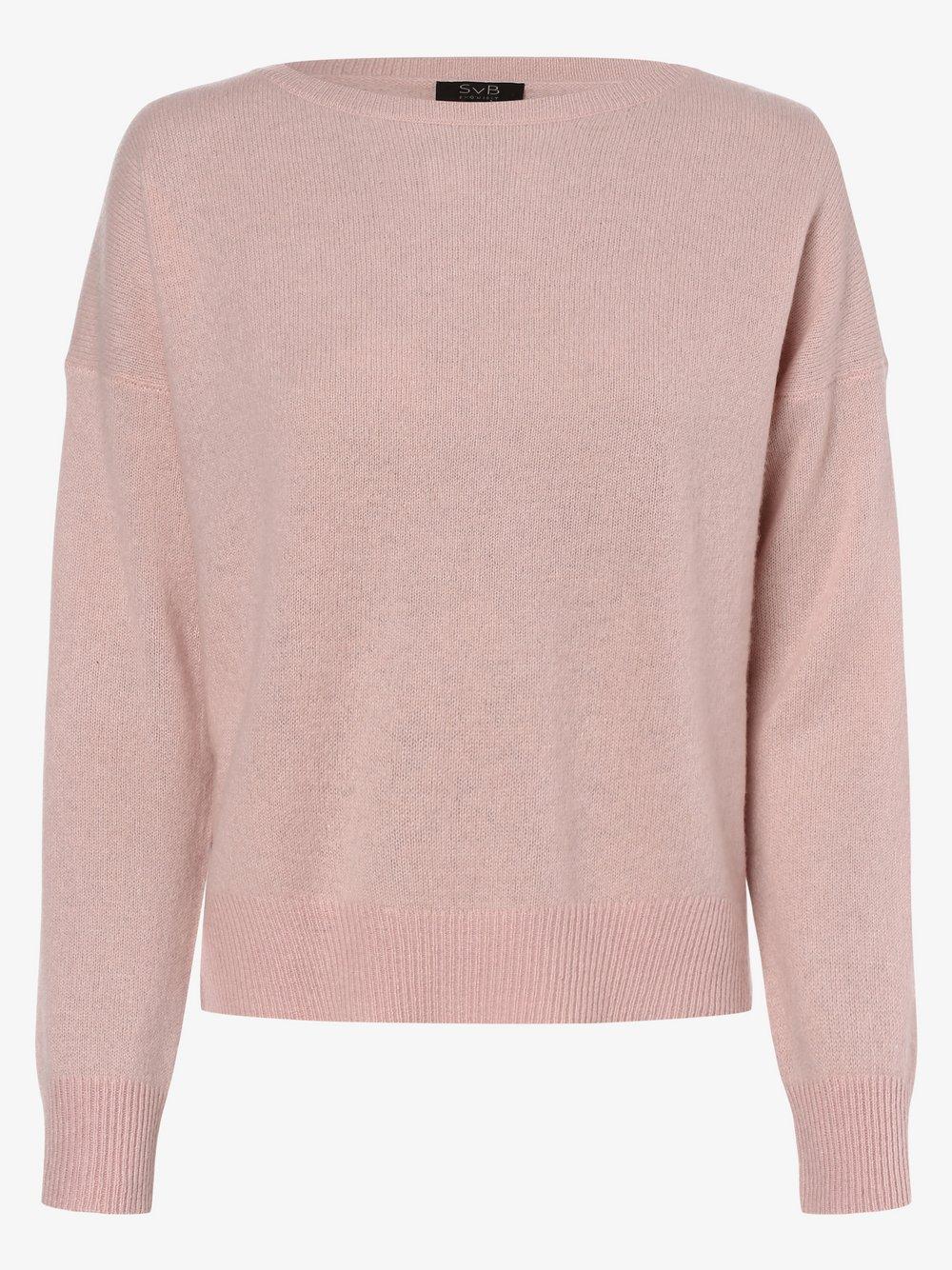 SvB Exquisit – Sweter damski z czystego kaszmiru, różowy Van Graaf 479082-0003-00380