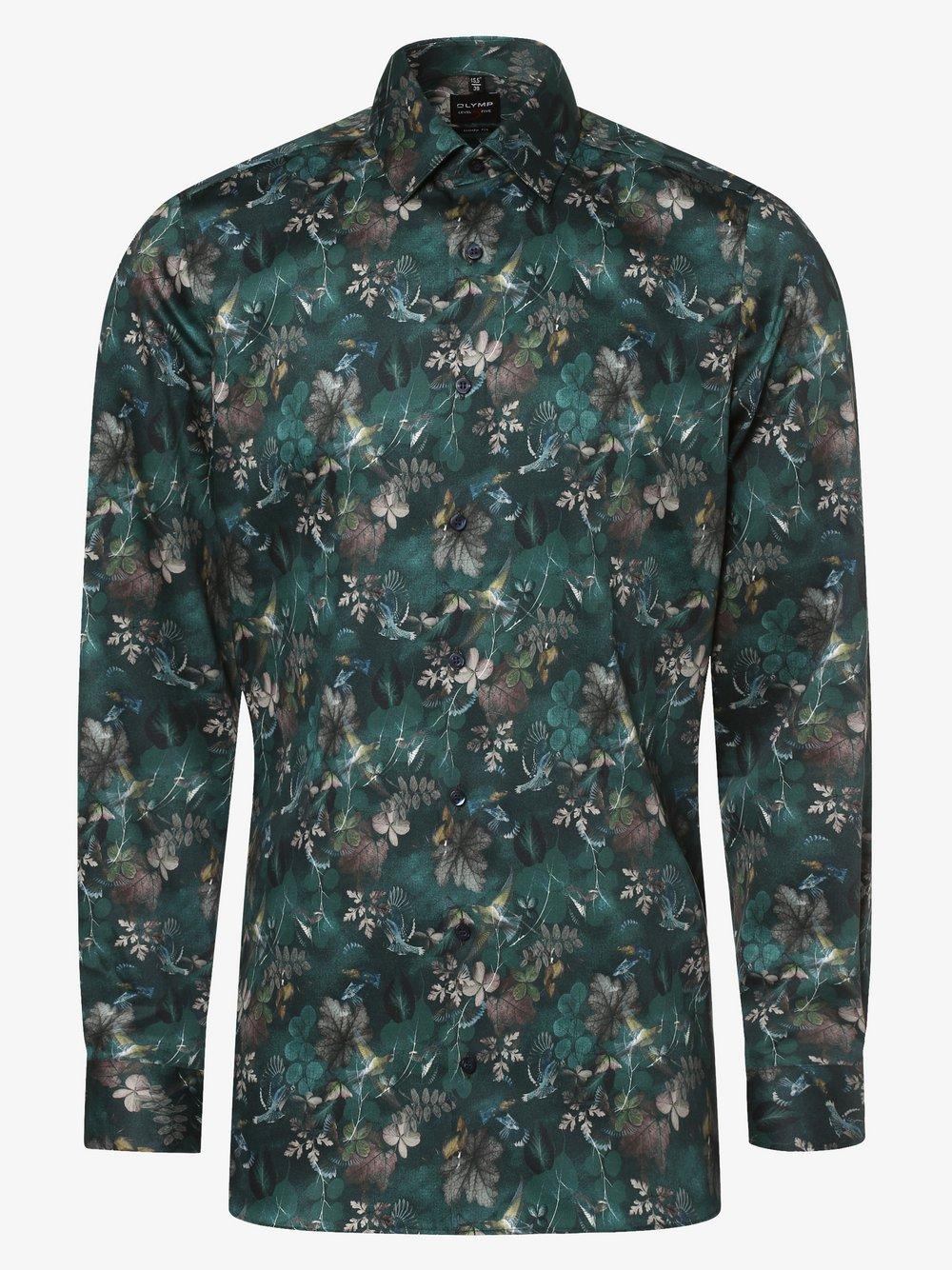 Olymp Level Five – Koszula męska, zielony Van Graaf 479421-0001-00390