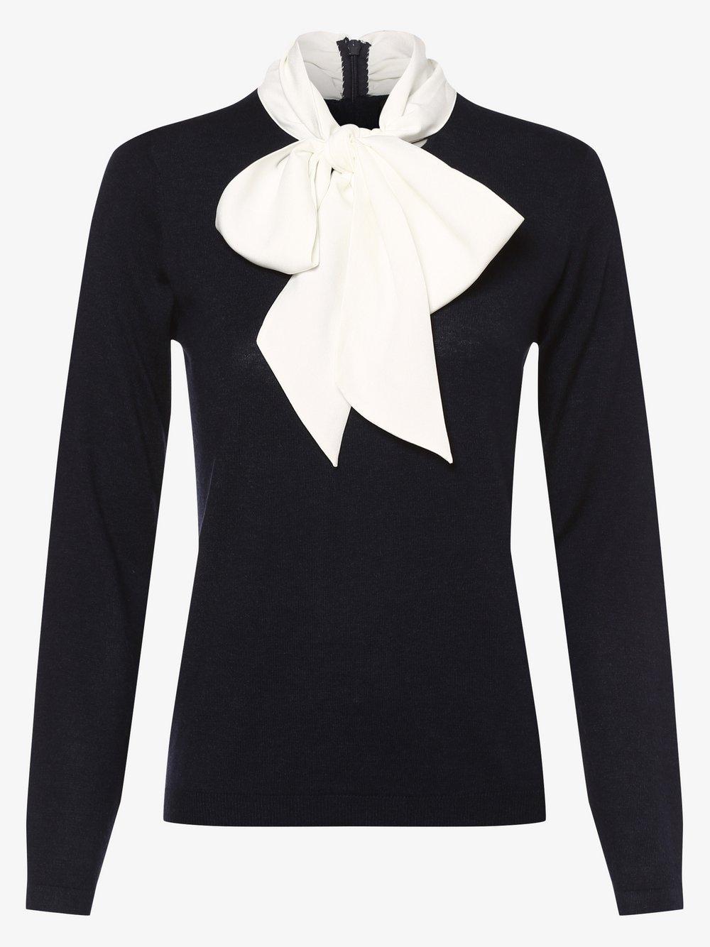 STEFFEN SCHRAUT – Sweter damski z dodatkiem kaszmiru, niebieski Van Graaf 479468-0001-00380