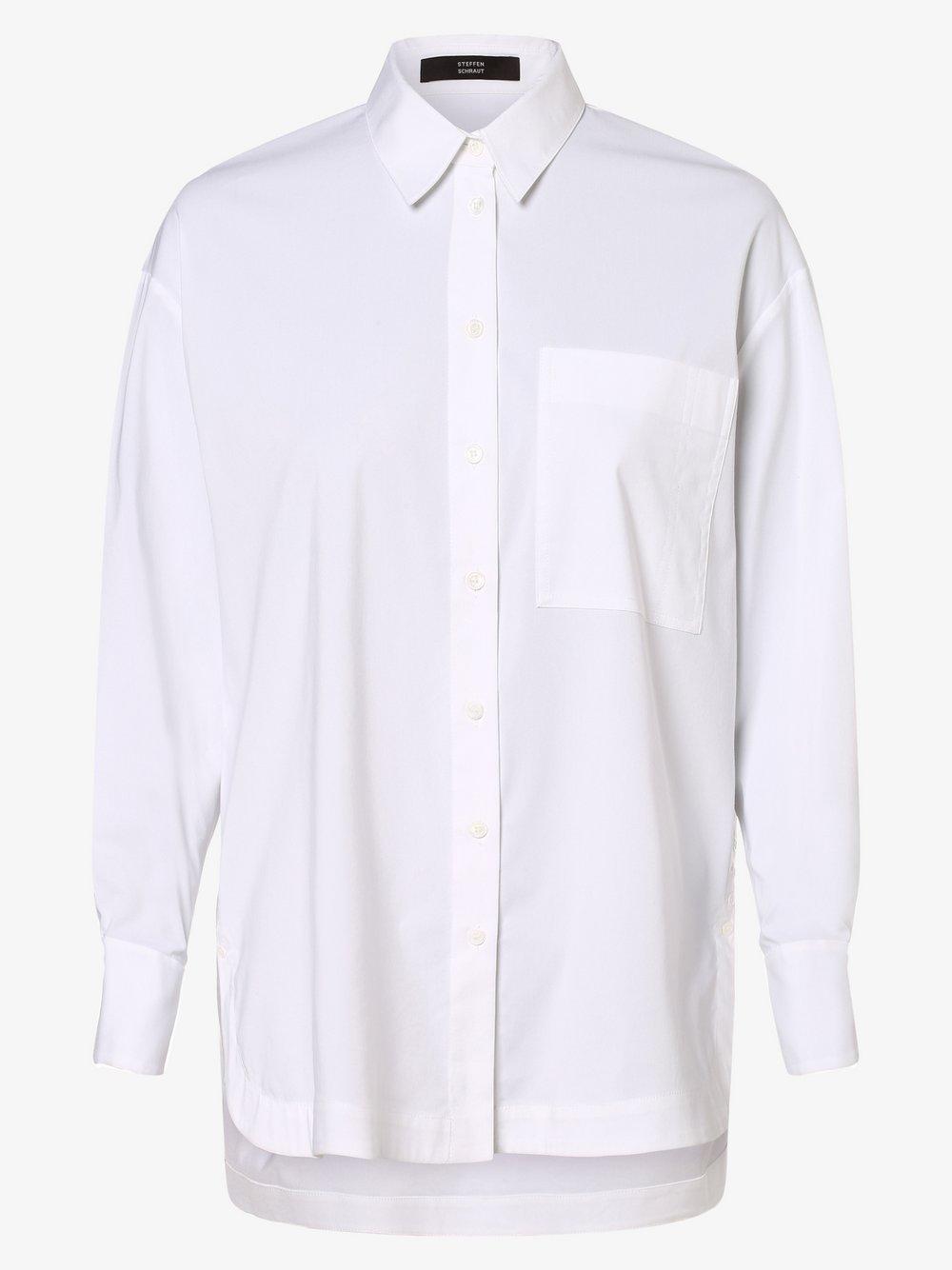 STEFFEN SCHRAUT – Bluzka damska, biały Van Graaf 479472-0001-00380