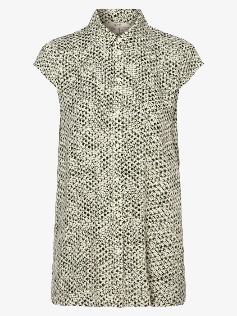 Esprit Casual – Bluzka damska, beżowy Van Graaf 479562-0001-00380