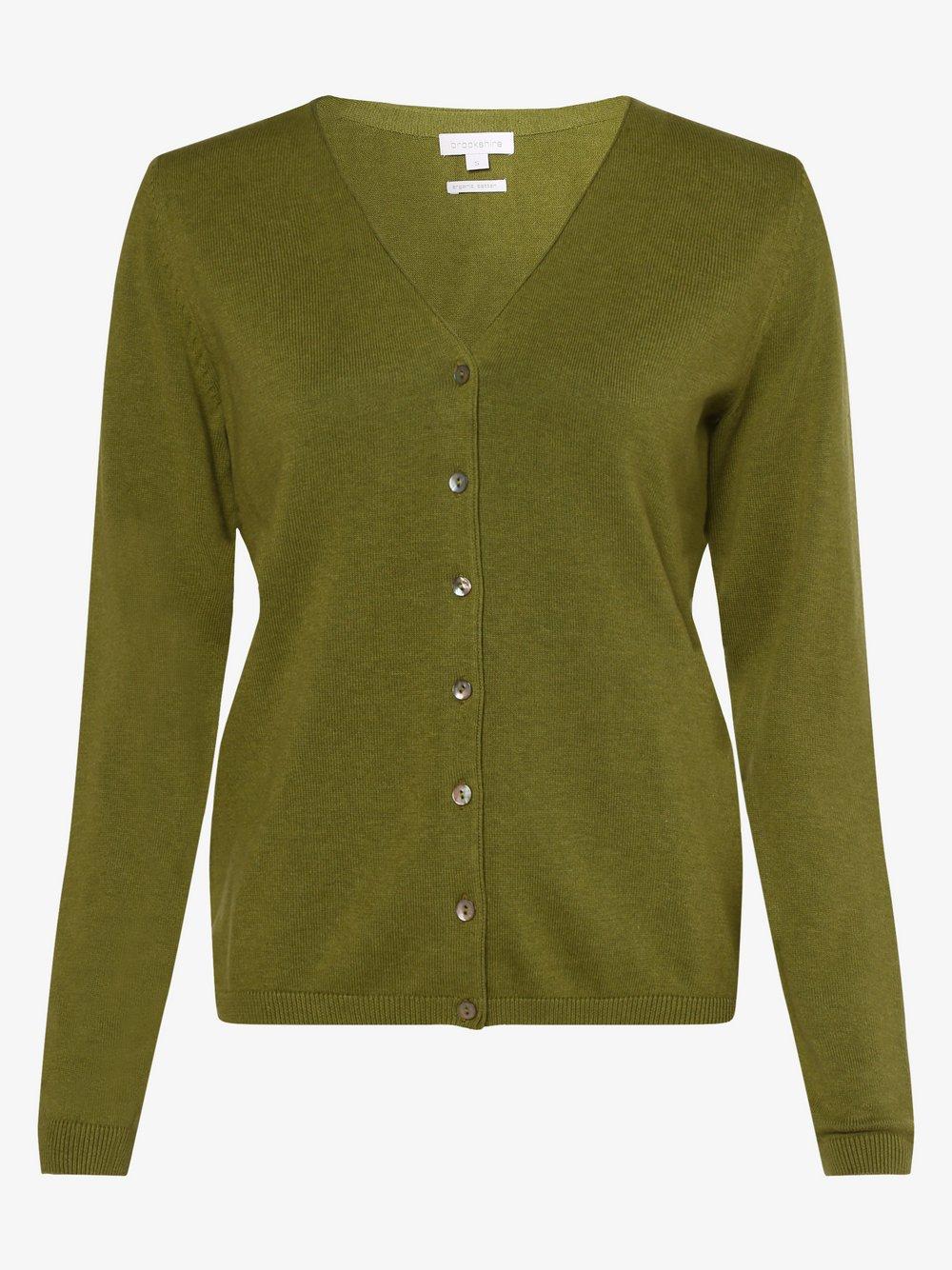 brookshire - Kardigan damski, zielony