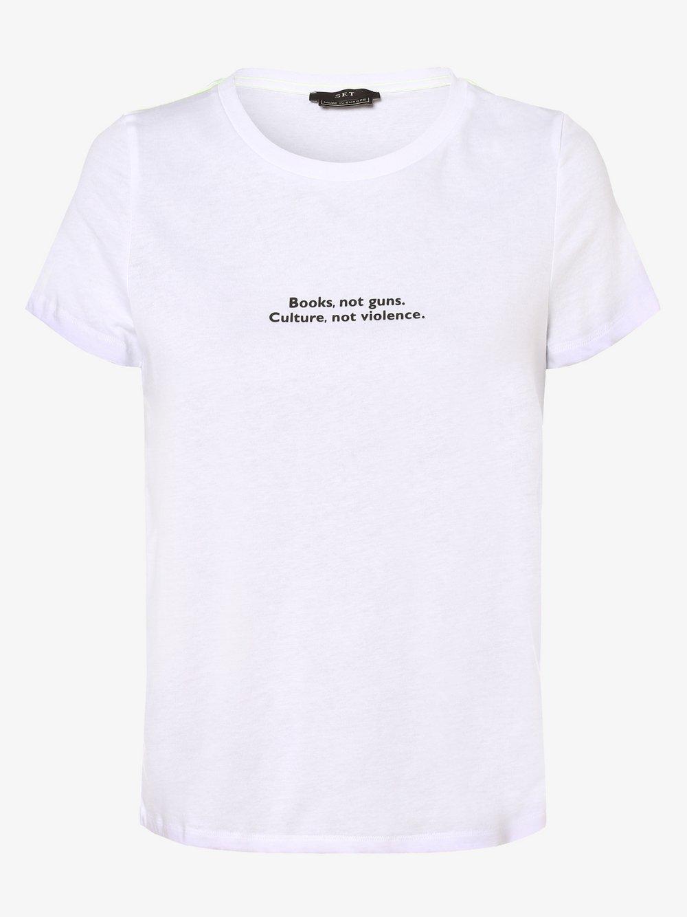 SET – T-shirt damski, biały Van Graaf 479646-0001-00420