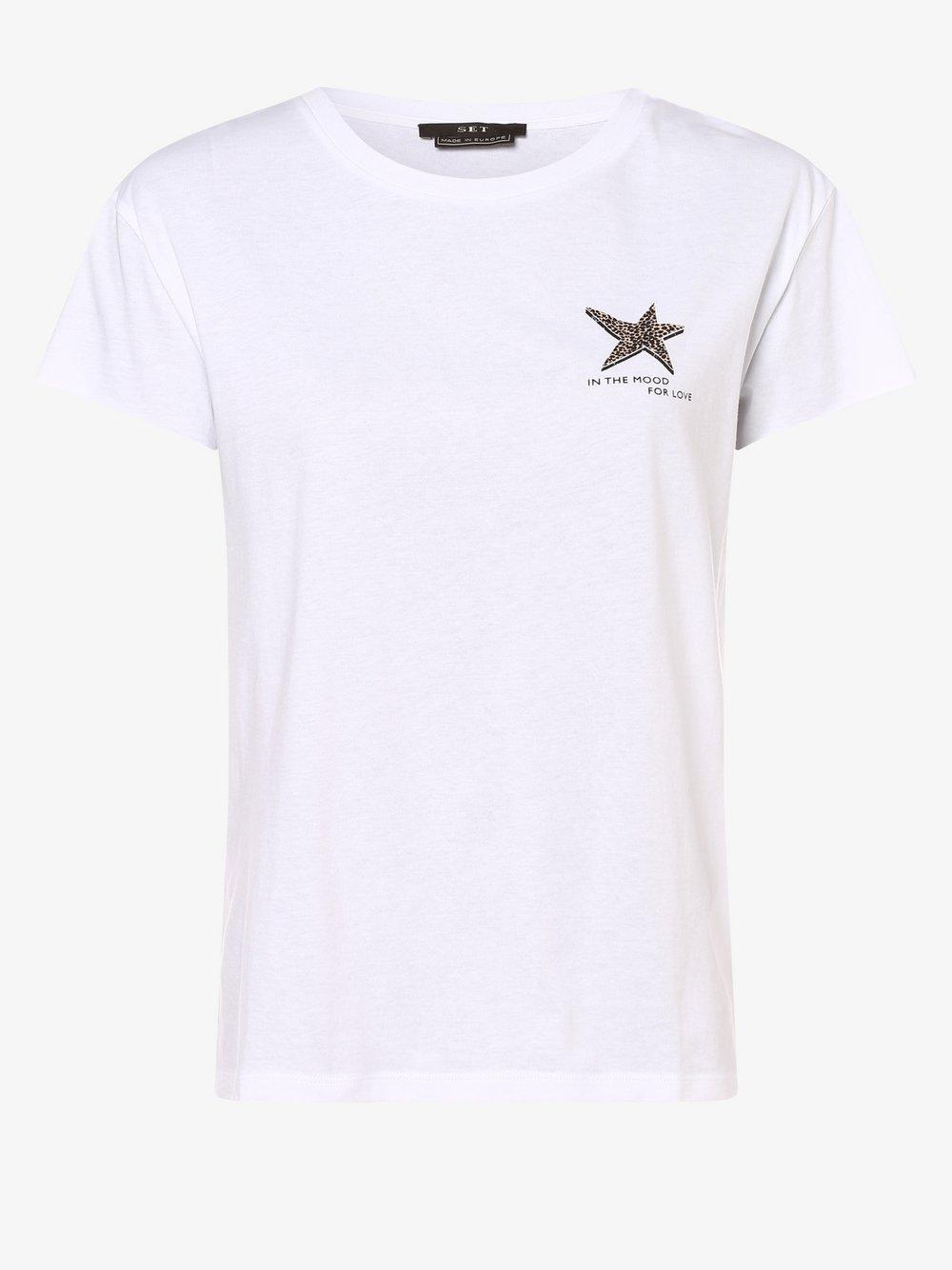 SET – T-shirt damski, biały Van Graaf 479693-0001-00420