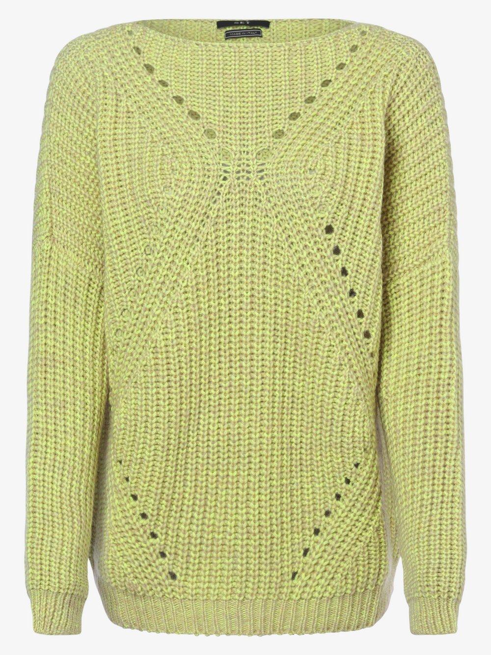 SET – Sweter damski, żółty Van Graaf 479698-0001-00400