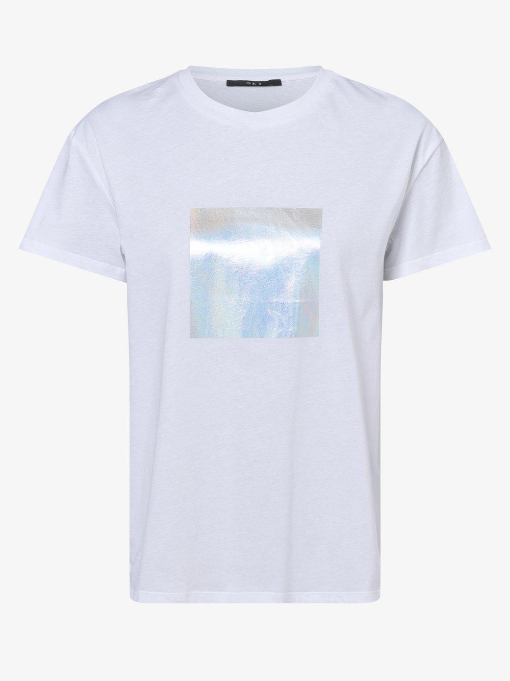 SET – T-shirt damski, biały Van Graaf 479760-0001-00340