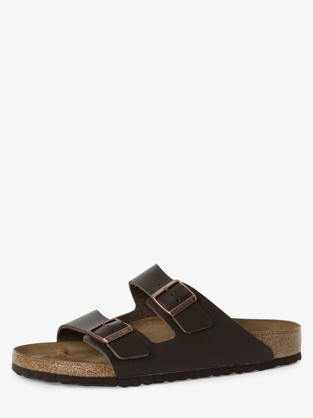 Birkenstock - Sandały męskie ze skóry – Arizona BS, brązowy