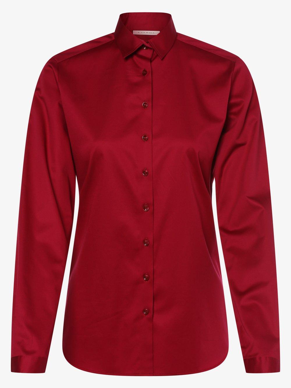 Eterna Comfort Fit - Bluzka damska – łatwa w prasowaniu, lila