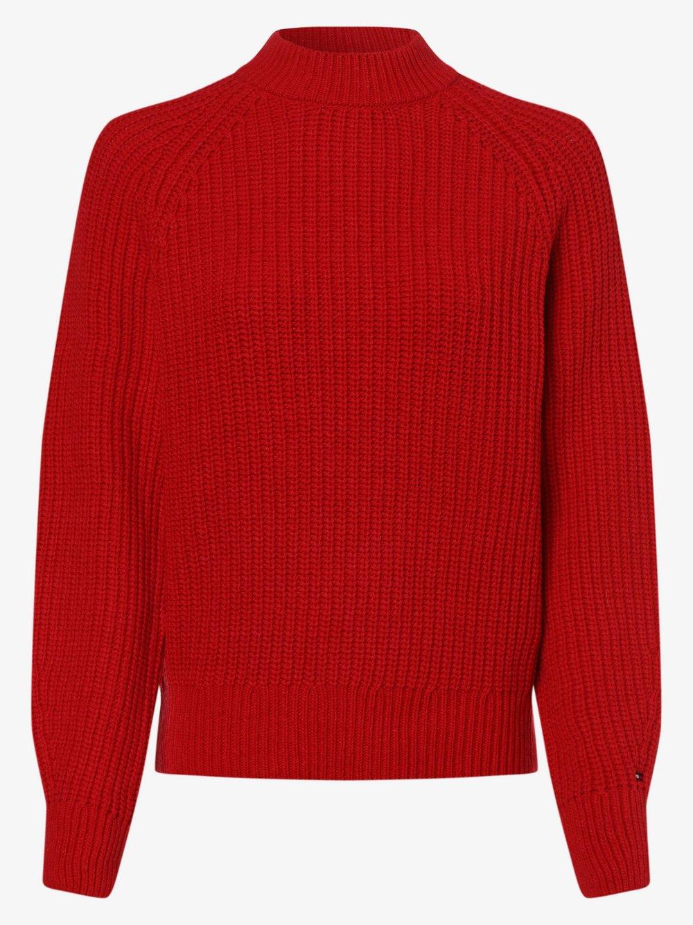 Tommy Hilfiger - Sweter damski, czerwony