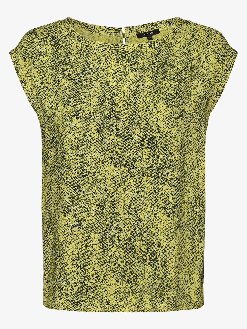 Opus – Bluzka damska – Faune, żółty Van Graaf 480581-0001-00360