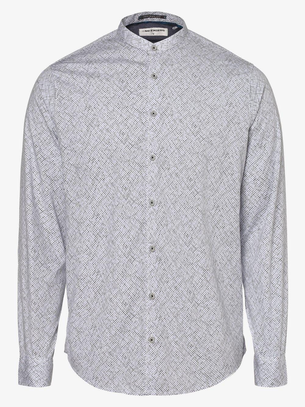 No Excess – Koszula męska, niebieski Van Graaf 480617-0001-09995