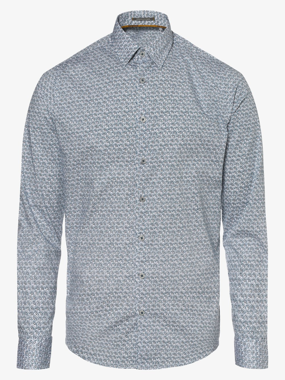 No Excess – Koszula męska, niebieski Van Graaf 480621-0001-09970