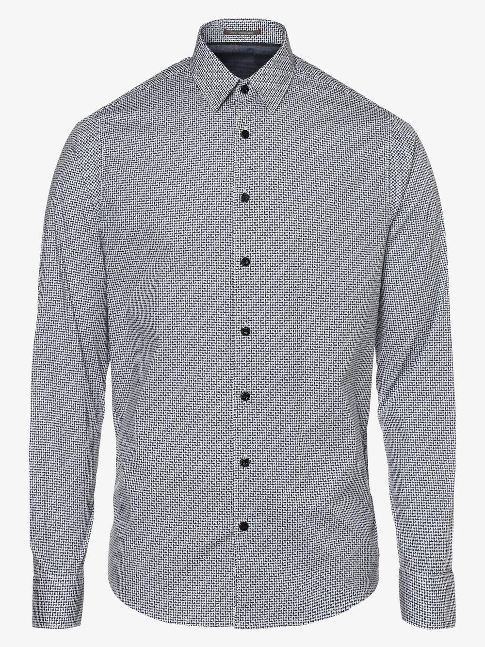 No Excess – Koszula męska, niebieski Van Graaf 480792-0001-09990