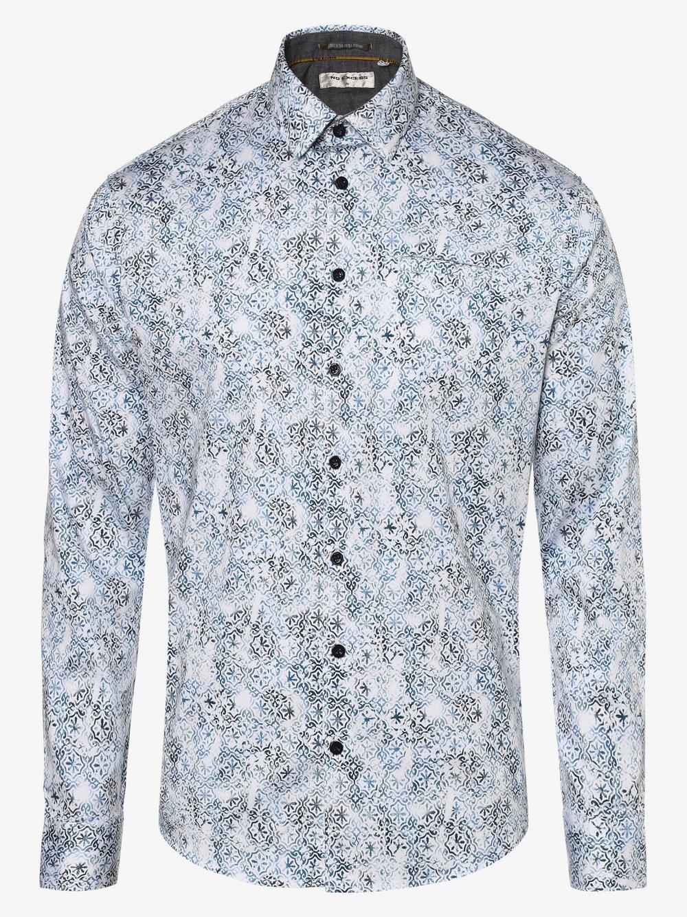 No Excess – Koszula męska, niebieski Van Graaf 480795-0002