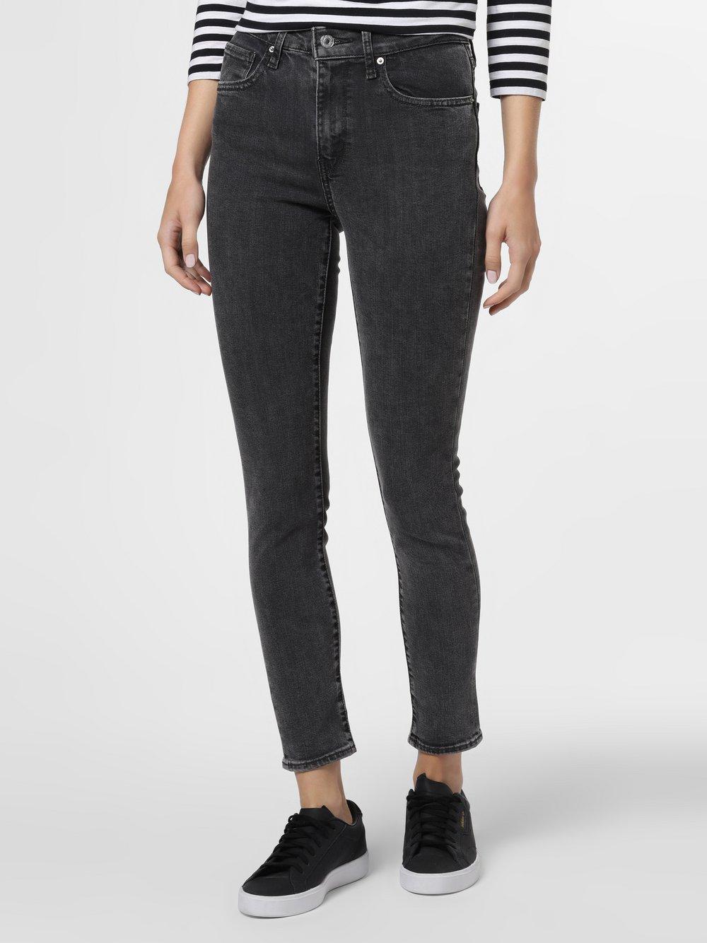 Levi's - Spodnie damskie – 721, czarny