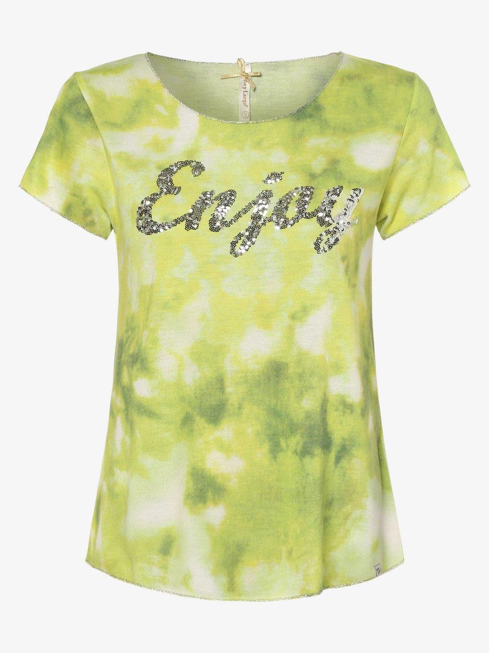 Key Largo - T-shirt damski, zielony