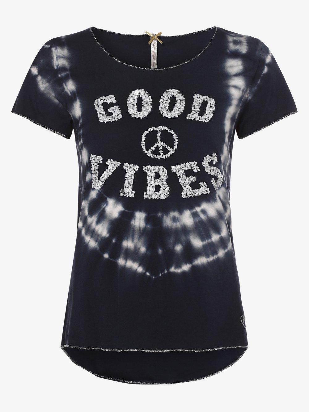 Key Largo - T-shirt damski, niebieski