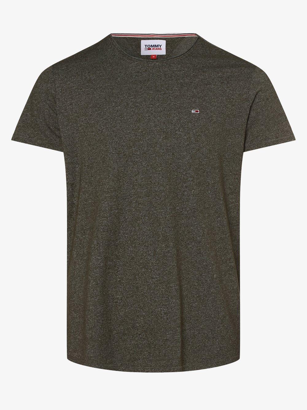 Tommy Jeans - T-shirt męski, zielony