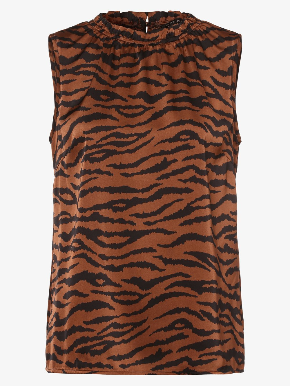 Betty Barclay – Damska bluzka bez rękawów, czarny Van Graaf 482053-0001-00380