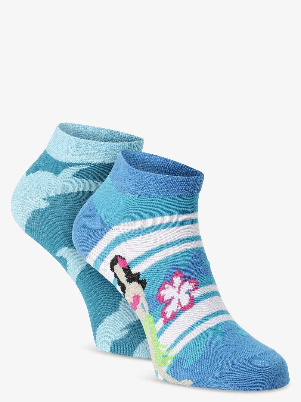 Unabux – Skarpety do obuwia sportowego pakowane po 2 szt., niebieski Van Graaf 482123-0001-04146