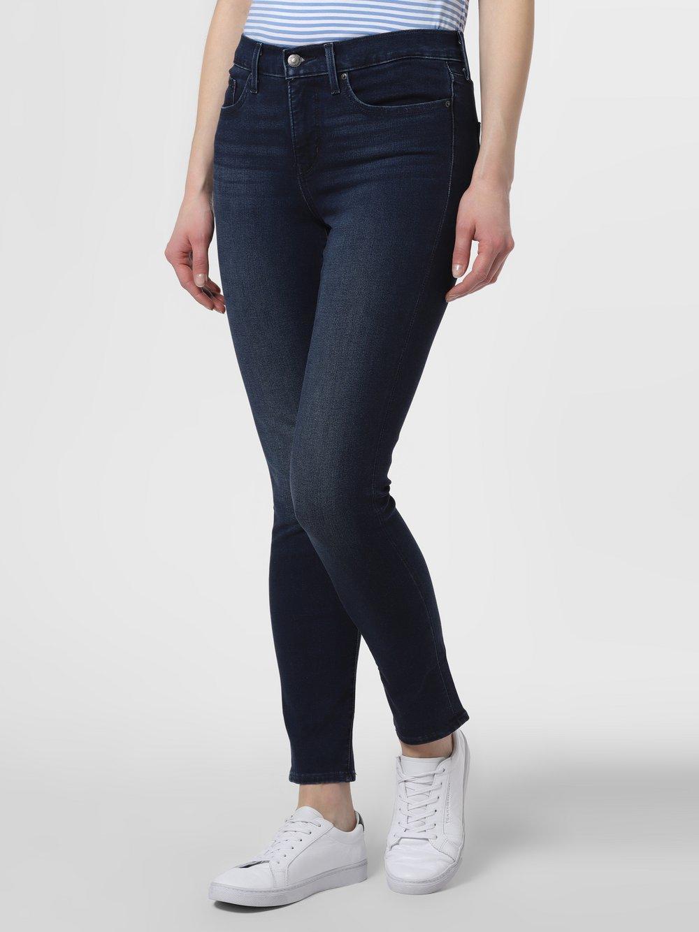 Levi's - Jeansy damskie – 311™ Shaping Skinny, niebieski