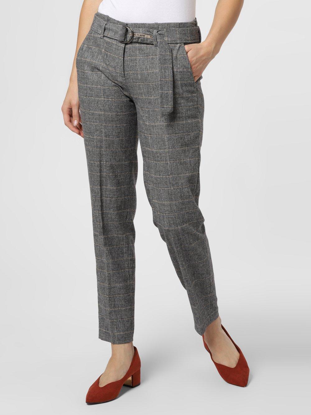 Cambio - Spodnie damskie – Kaia, szary