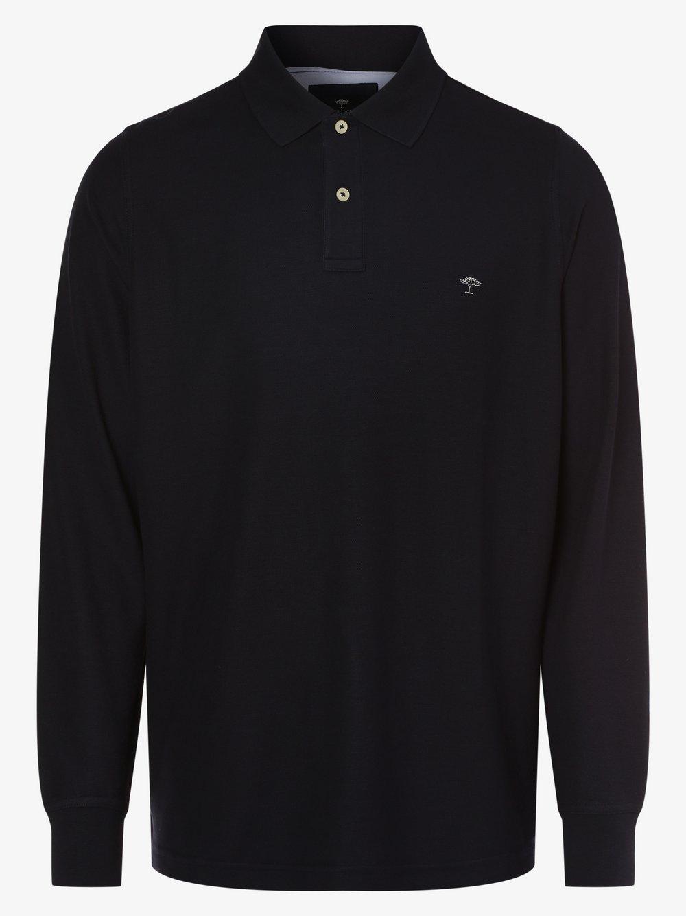 Fynch-Hatton – Męska koszulka polo, niebieski Van Graaf 482344-0006-09995