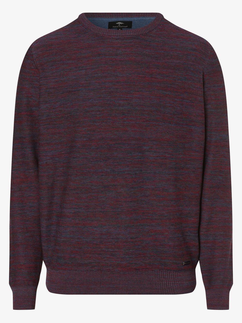 Fynch-Hatton - Sweter męski, czerwony