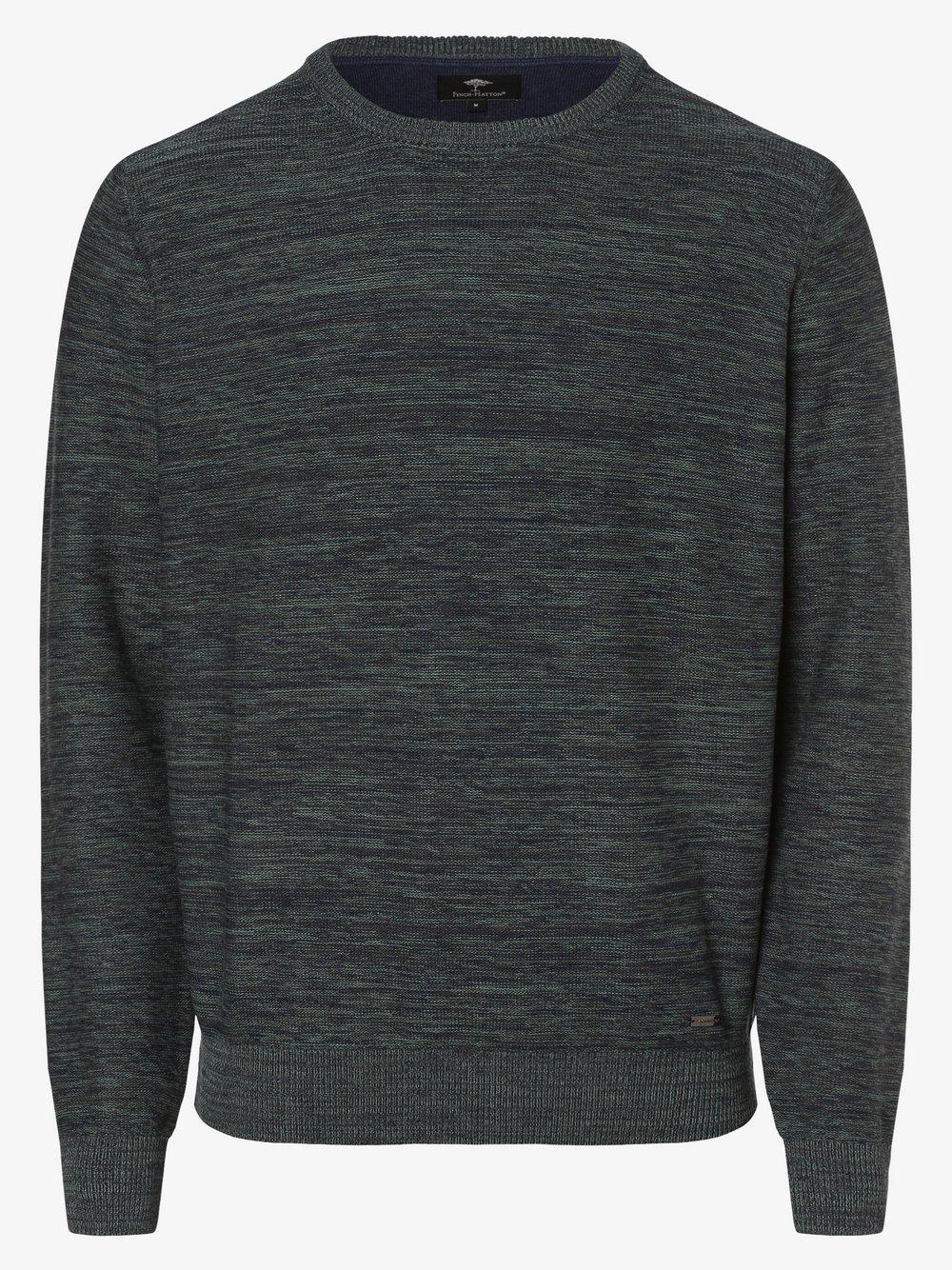 Fynch-Hatton – Sweter męski, zielony Van Graaf 482364-0002-09970