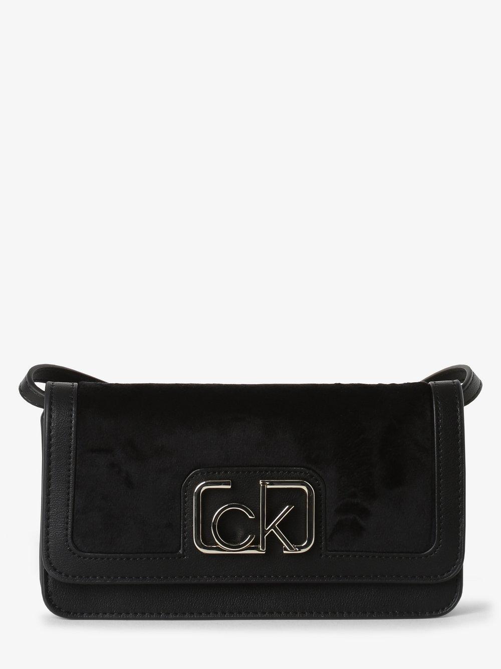Calvin Klein - Damska torebka na ramię, czarny