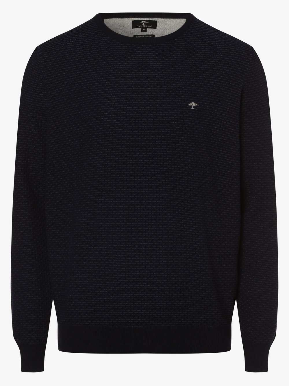 Fynch-Hatton – Sweter męski, niebieski Van Graaf 482379-0001-09995