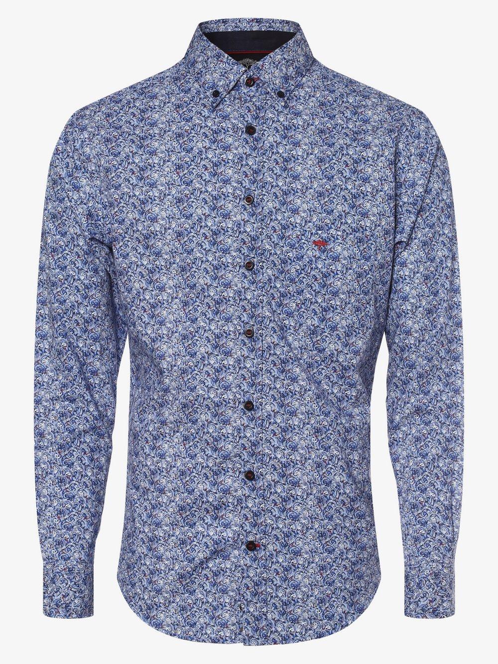 Fynch-Hatton – Koszula męska, niebieski Van Graaf 482403-0003-09970