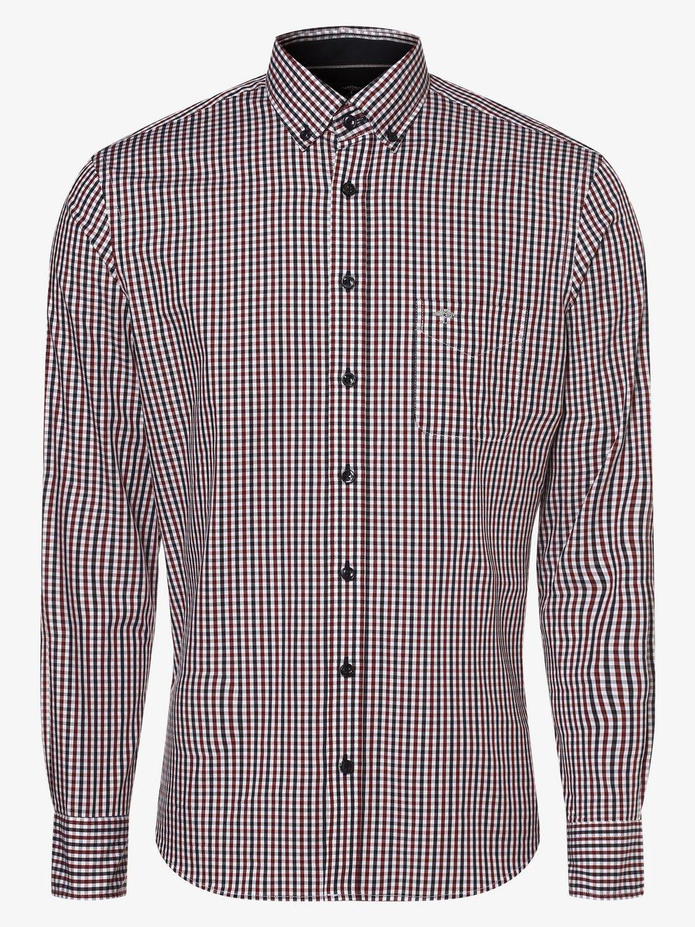 Fynch-Hatton – Koszula męska, niebieski Van Graaf 482431-0001-09990