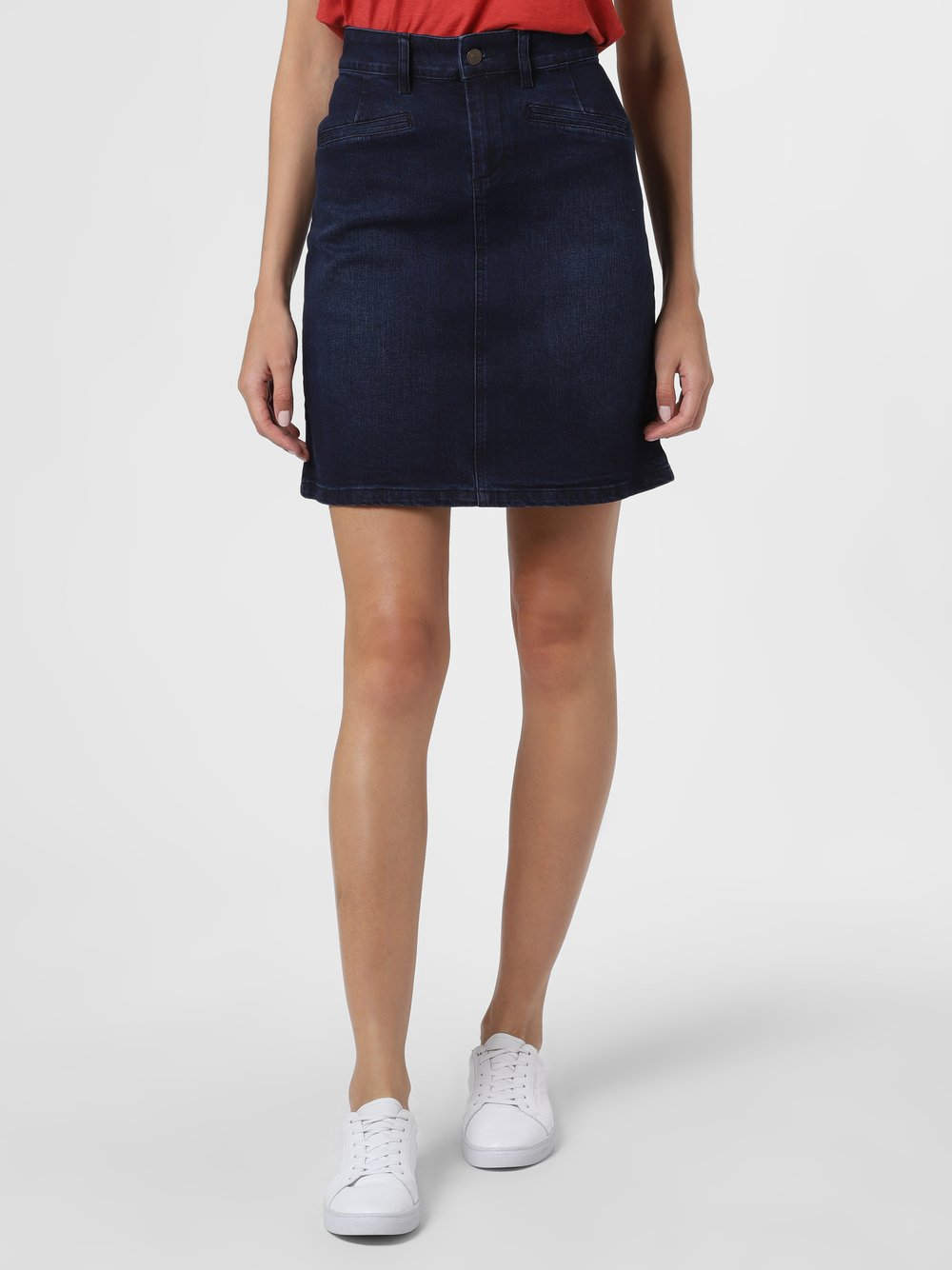Marie Lund - Jeansowa spódnica damska, niebieski