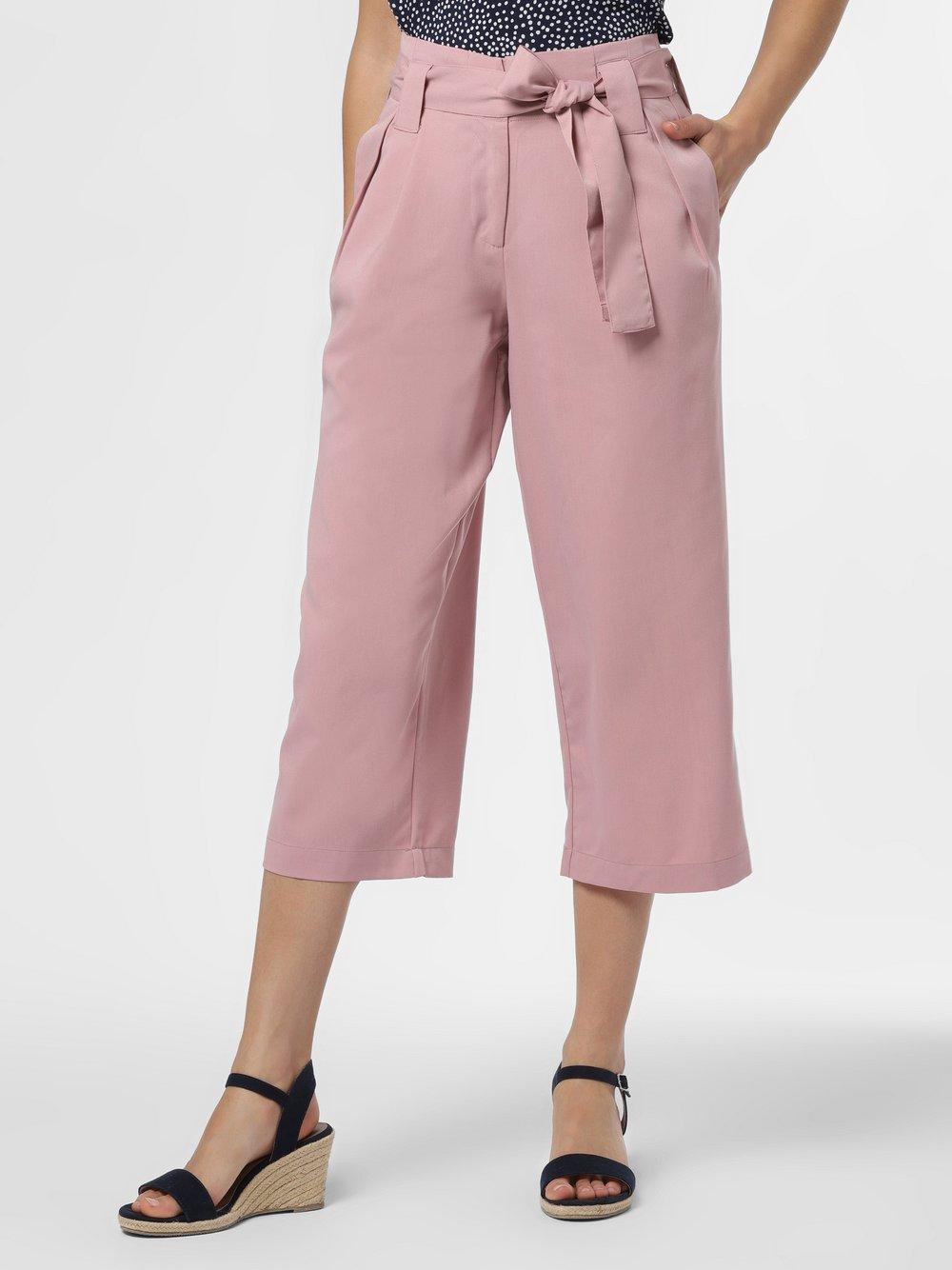Y.A.S – Spodnie damskie – YASLeo, różowy Van Graaf 483143-0001