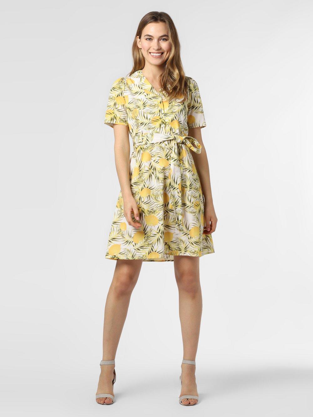 Y.A.S – Sukienka damska – YASLemono, żółty Van Graaf 483146-0001-09940