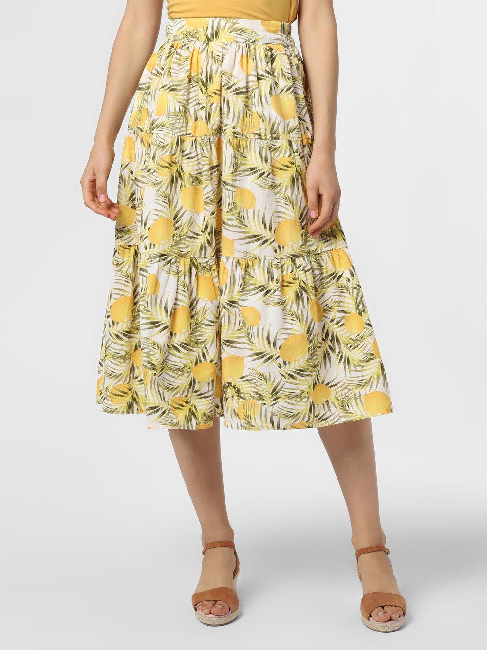 Y.A.S – Spódnica damska – YASEmily, żółty Van Graaf 483147-0001