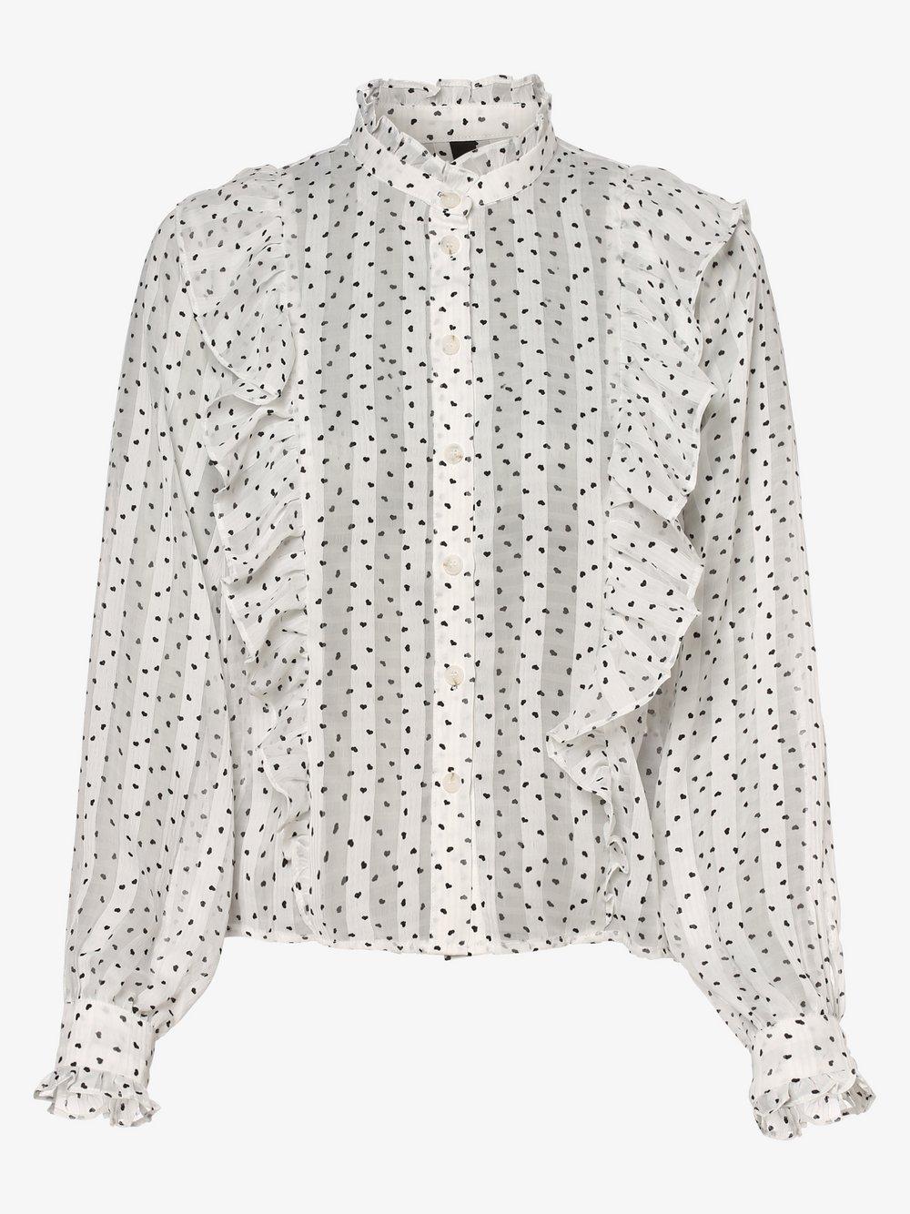 Y.A.S – Bluzka damska – YASCaro, biały Van Graaf 483151-0001