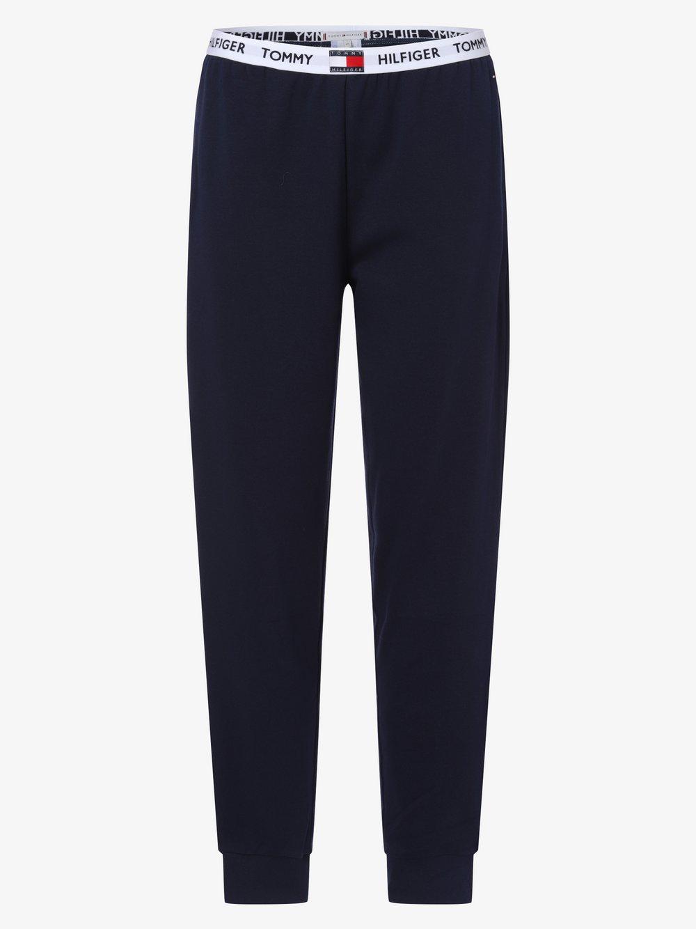 Tommy Hilfiger - Damskie spodnie od piżamy, niebieski