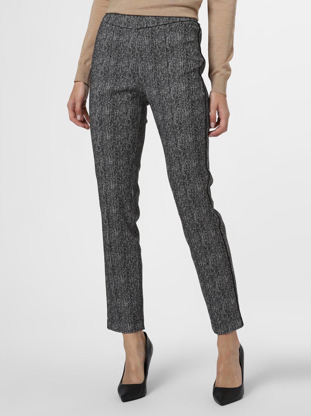 TONI – Spodnie damskie – Jenny, czarny Van Graaf 483331-0001-00440