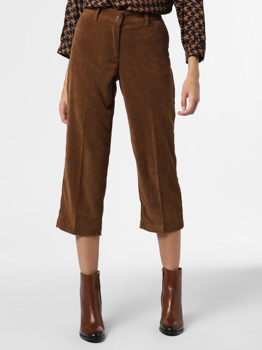 Marie Lund - Spodnie damskie, brązowy