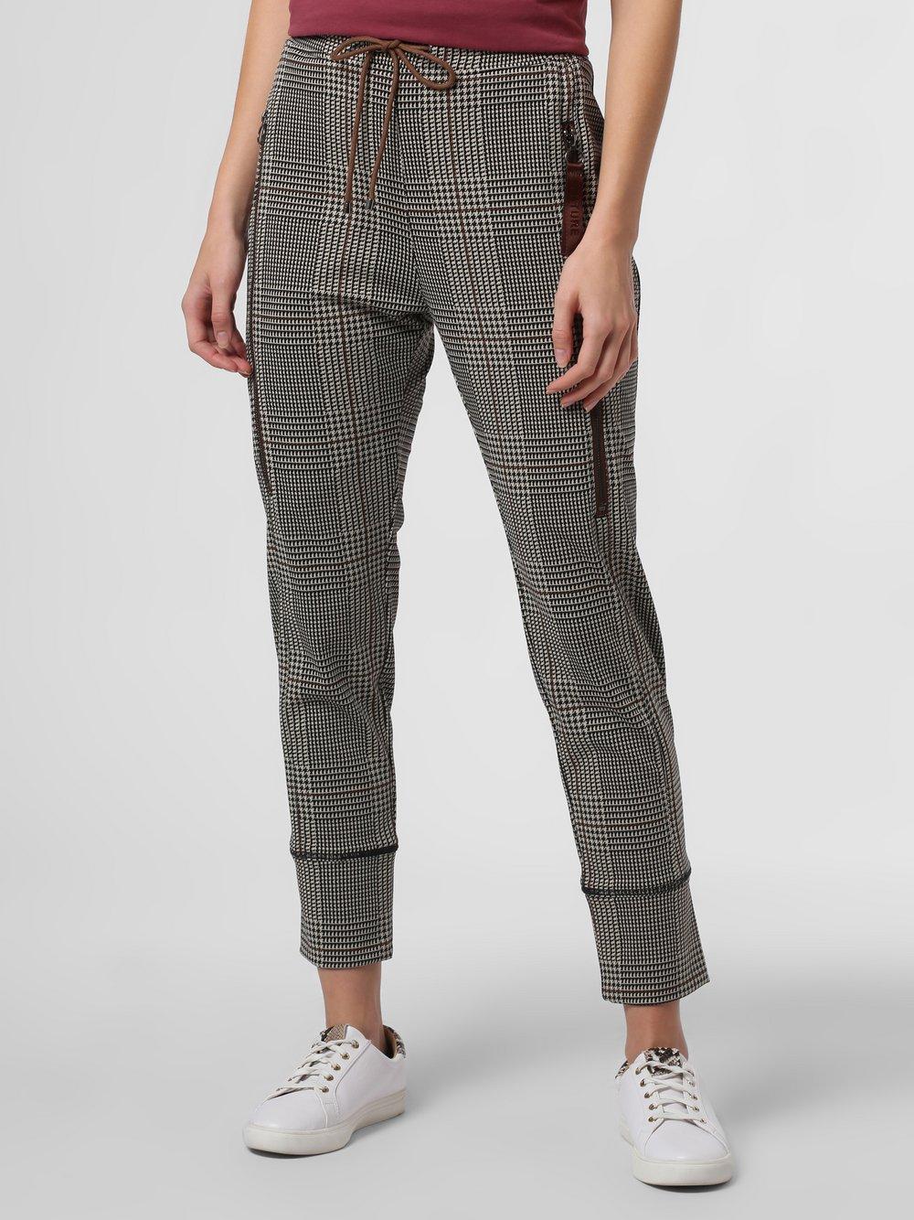 MAC – Damskie spodnie – Future, brązowy Van Graaf 483744-0001-00340