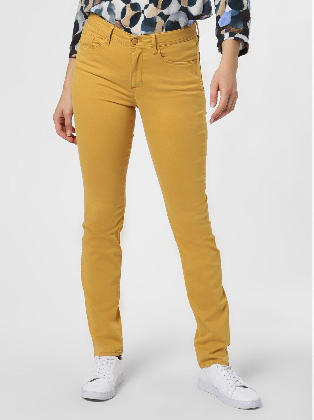 BRAX - Spodnie damskie – Shakira, żółty