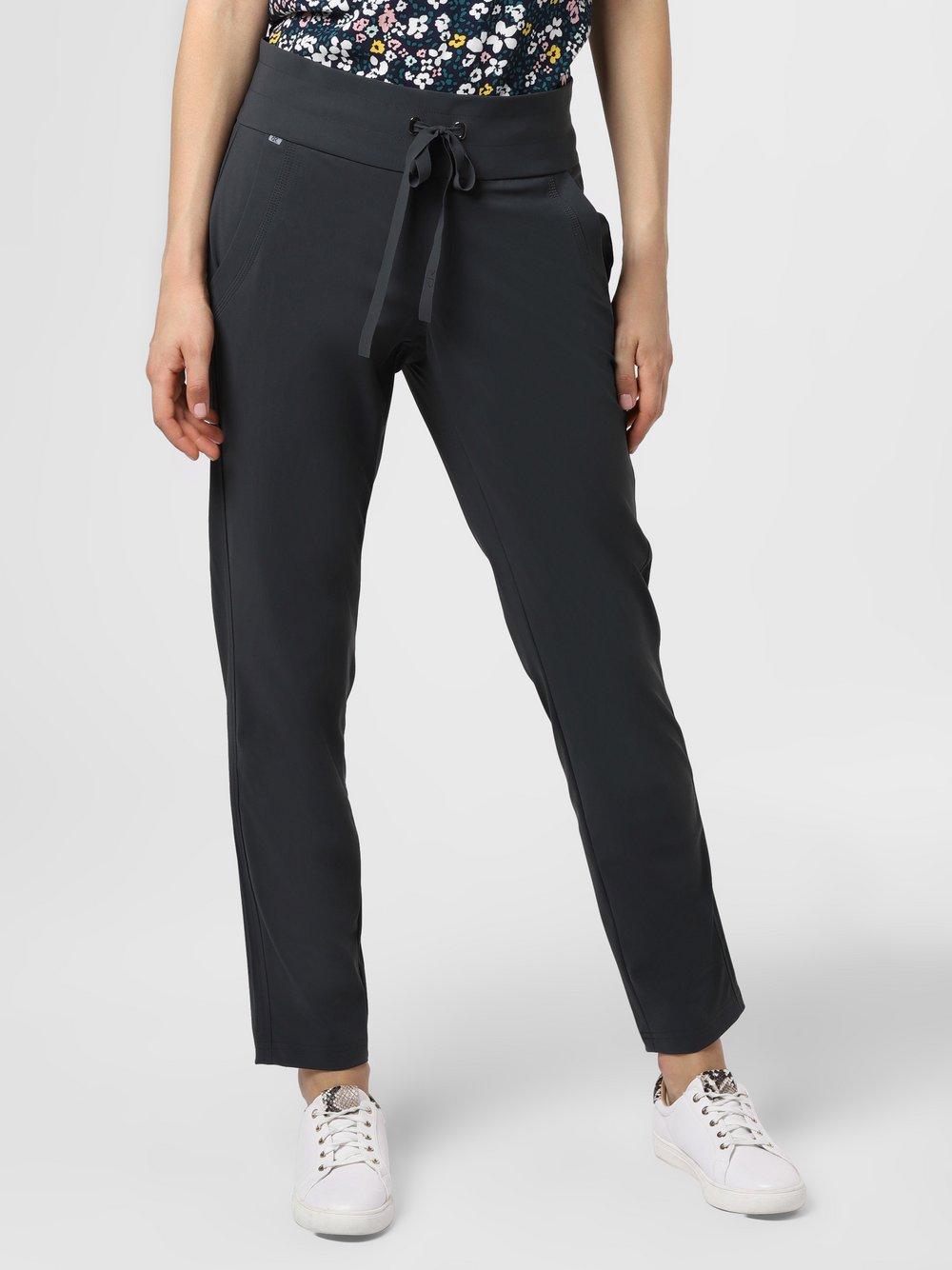 RAFFAELLO ROSSI – Spodnie damskie – Cynthia O, szary Van Graaf 483794-0002-00380