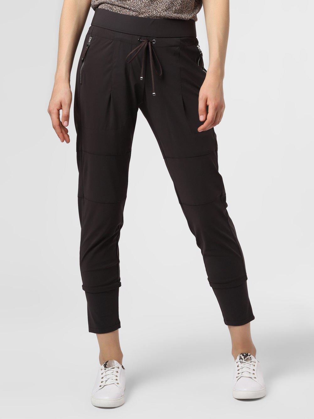 RAFFAELLO ROSSI – Spodnie damskie – Candy, brązowy Van Graaf 483795-0001-00360