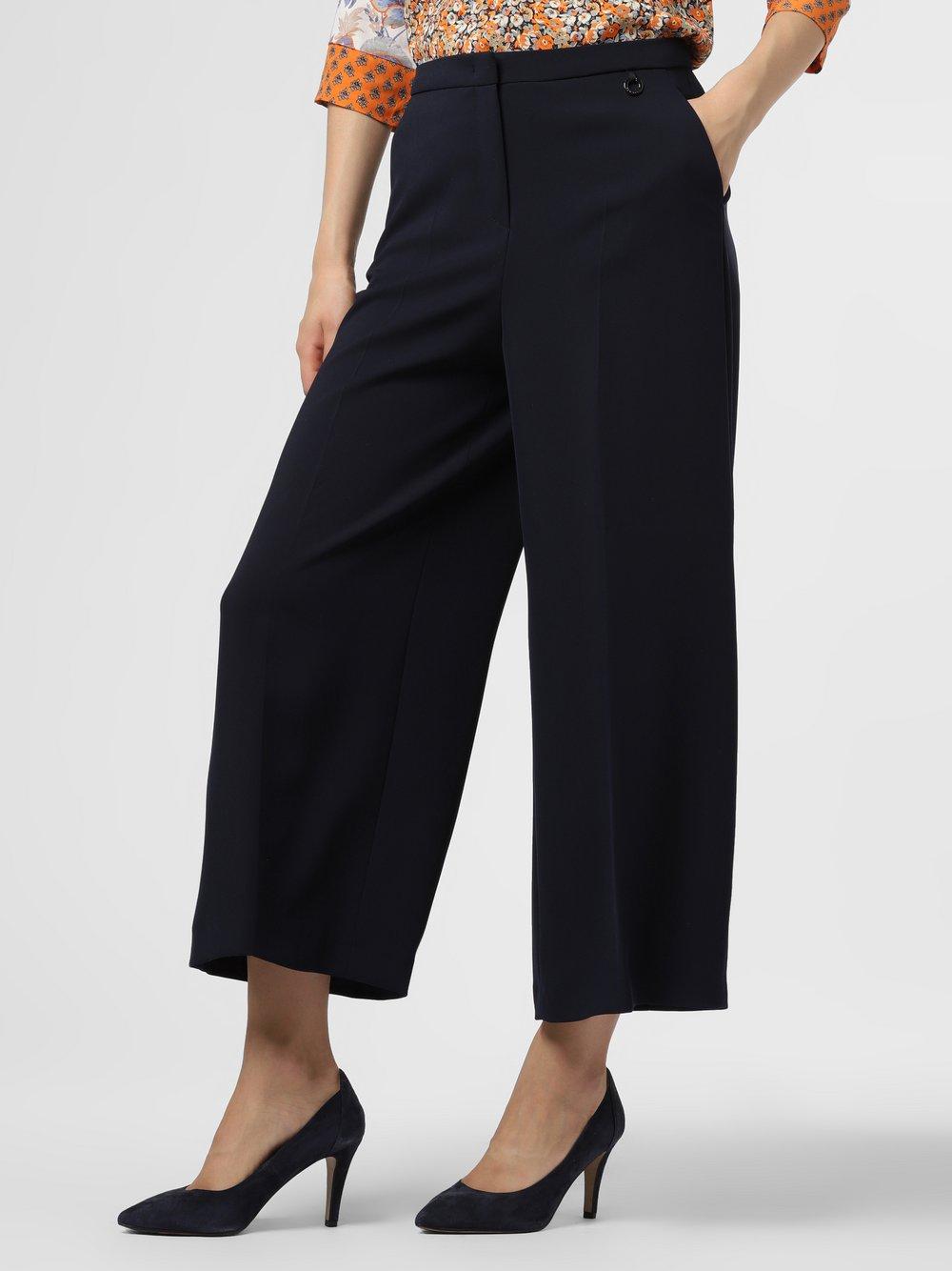 RAFFAELLO ROSSI – Spodnie damskie – Monja, niebieski Van Graaf 483796-0001-00360